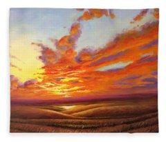 Tallgrass Prairie Fleece Blankets