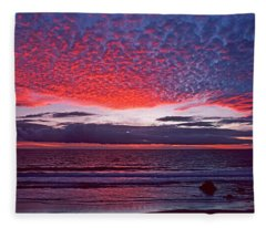 Fiesta In The Sky Fleece Blanket