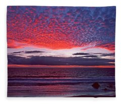 Fiesta In The Sky Fleece Blanket