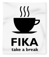 Fika - Take A Break Fleece Blanket