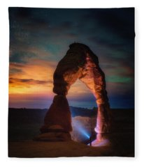 Finding Heaven Fleece Blanket