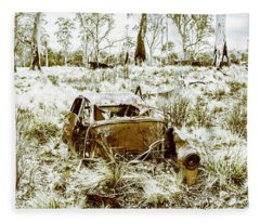 Fine Art Tasmania Bushland Fleece Blanket