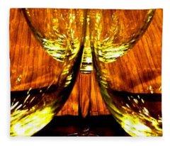 Fine Wine And Dine 3 Fleece Blanket