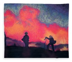Fire Crew Fleece Blanket