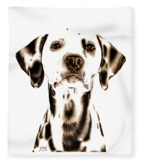 Fire Fighter's Best Friend Fleece Blanket