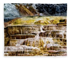 Hot Spring Fleece Blanket