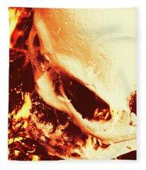 Fire Of Doom Fleece Blanket