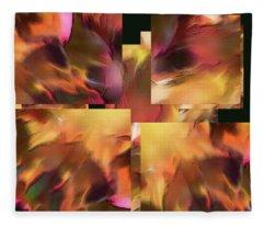 Fire Within - Fleece Blanket