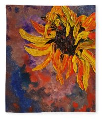 Firespace Flower  27 Fleece Blanket