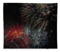 Fireworks 6 Fleece Blanket