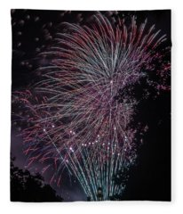 Fireworks 7 Fleece Blanket