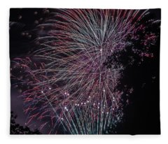 Fireworks 7 Fleece Blanket