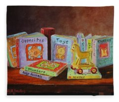 First Books Fleece Blanket