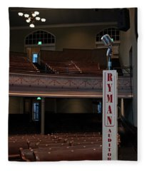 First Church Of Country Music Fleece Blanket
