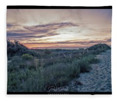 First Landing Dunes Fleece Blanket