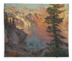 First Light Wilderness Fleece Blanket
