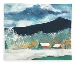 First Pennsylvania Snow Fleece Blanket