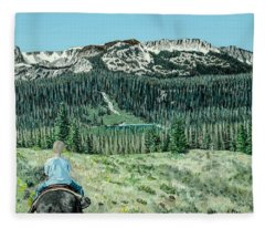 First Ride Fleece Blanket