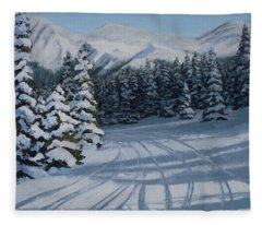 First Tracks Fleece Blanket