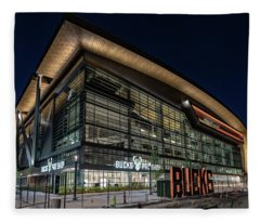 Fiserv Forum Fleece Blanket