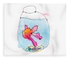 Fish Fleece Blanket