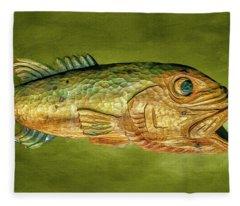 Fish Fleece Blanket
