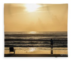 Fisherman Fleece Blanket