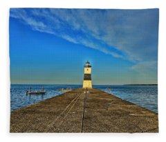 Fisherman's Dream Fleece Blanket