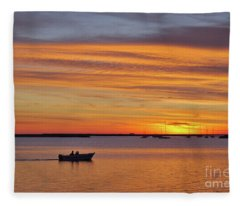 Fisherman's Return Fleece Blanket