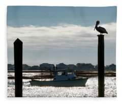 Fishers Fleece Blanket