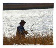 Fishin Fleece Blanket