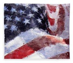Flag Fleece Blanket