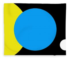 Flag Of Earth Fleece Blanket