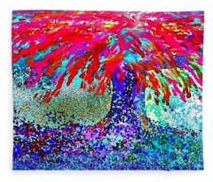 Flamboyan Fleece Blanket