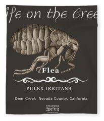 Flea Fleece Blanket