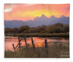 Fleeting Moments Fleece Blanket