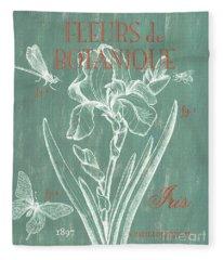 Fleurs De Botanique Fleece Blanket