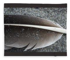 Flight Feather Fleece Blanket