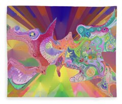 Flight Of Evolution Fleece Blanket