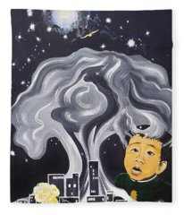 Flying Lamb Productions                Flight Of Hope Fleece Blanket