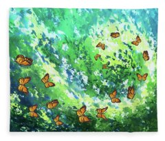 Flight To Eternity Fleece Blanket