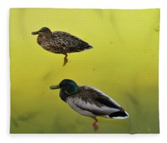 Floating Around Fleece Blanket