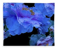 Floating Bouquet 10 Fleece Blanket