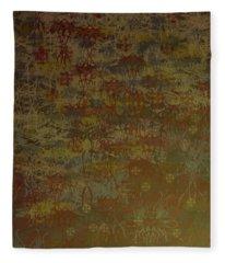Floating Zen Fleece Blanket
