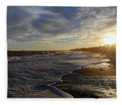 Flood Tide Fleece Blanket