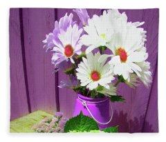 Floral Art 335 Fleece Blanket