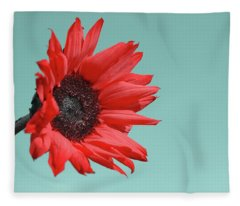 Floral Energy Fleece Blanket