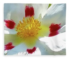 Floral Impressions Fleece Blanket