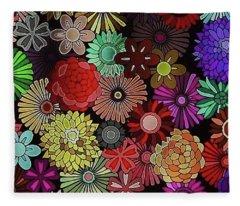 Floral Love Fleece Blanket