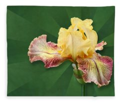 Floral Radiance Fleece Blanket